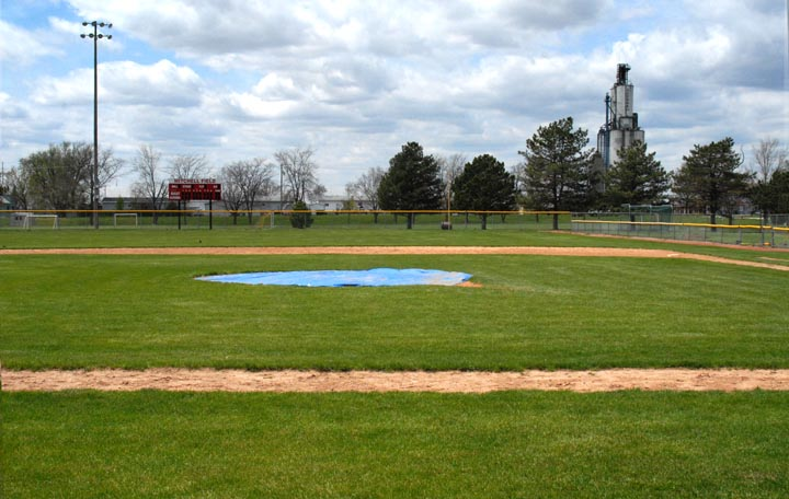 clarence mitchell field  infield