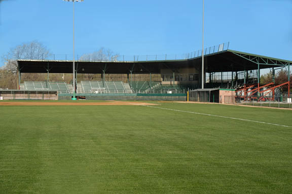 present view of sherman field