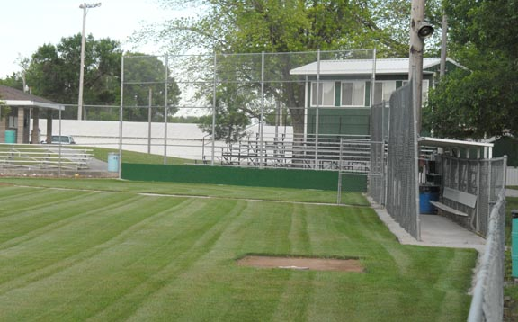 Wisner Nebraska Baseball entrance